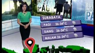 Prakiraan Cuaca Sejumlah Kota Di Indonesia  BIP 28/04