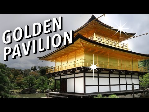 Temple covered in gold! | Kinkakuji Golden Pavilion in Kyoto
