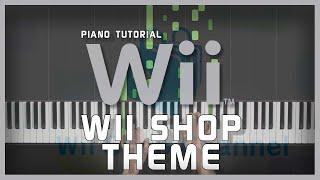 wii shop channel theme piano easy - TH-Clip