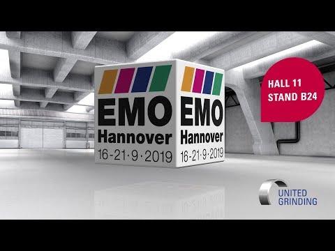 EMO 2019 Hannover - UNITED GRINDING