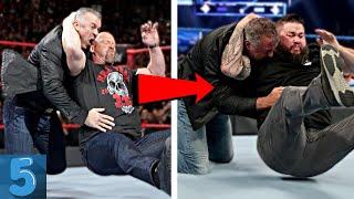 5 WWE Wrestlers Who COPIED Finishers