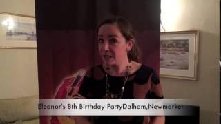 Eleanor's 8th birthday party