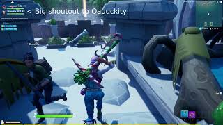 Fortnite Story Tutorial (w/ the best person ever Qauuckity