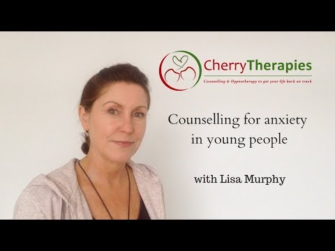 Counselling for anxiety in young people