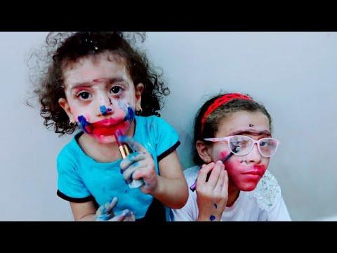 ملكه ومريم خربو مكياج ماما Download Youtube Video In Mp3