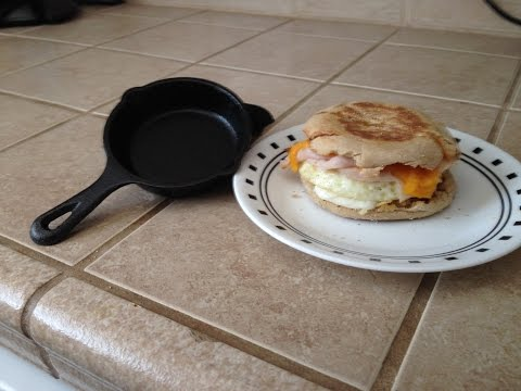 Perfect For Egg Sandwiches? Smallest Lodge Cast Iron Skillet