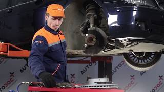How to replacefront brake discs and front brake padsonBMW 7 E65TUTORIAL | AUTODOC