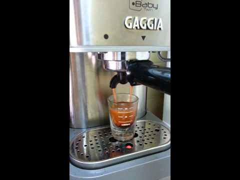 , Gaggia 12500 Baby Twin Espresso Machine with Dual Heating System, Stainless Steel