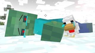 Zombie Life 3   Craftronix Minecraft Animation