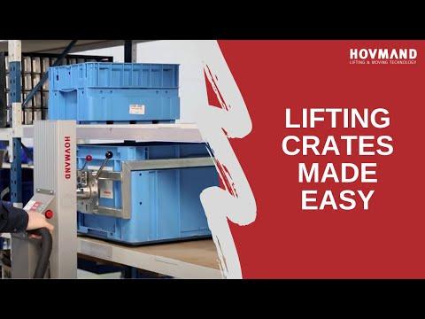 HOVMAND - Ergonomic ways to handle crates and boxes Icon