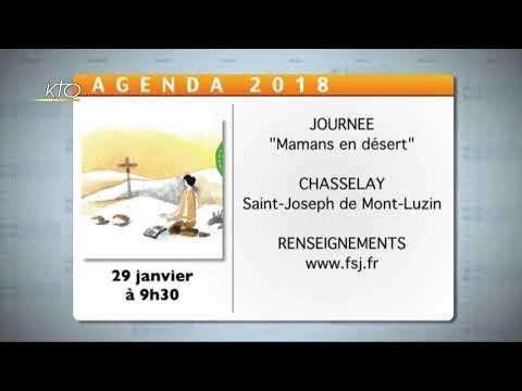 Agenda du 11 janvier 2019