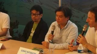 [Annecy2017]InThisCornerofTheWorldpressconferencewithSunaoKatabuchi&TaroMaki