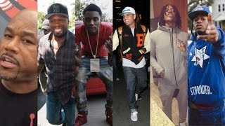 Wack100 Tells 50 Cent AINT NO SOULJA BOY VS CHRIS BROWN UNLESS WE SAY SO Recklezz & Snap Dogg