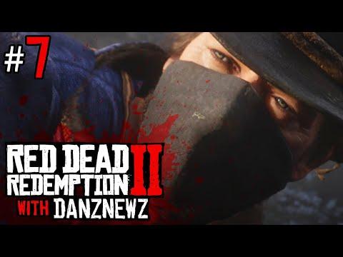 TRAIN JOB | Red Dead Redemption 2 with Danz Newz - Part 7