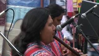 Chtelnický jarmok 2010 - Peruánski indiáni