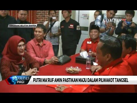 Putri Ma'ruf Amin Pastikan Maju di Pemilihan Wali Kota Tangerang Selatan