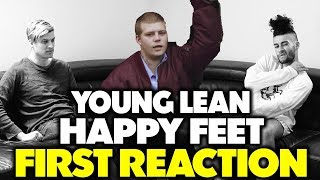 YUNG LEAN   HAPPY FEET REACTIONREVIEW (Jungle Beats)