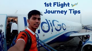 FIRST FLIGHT JOURNEY IN INDIA | Departure, Boarding Pass, Check in Process |