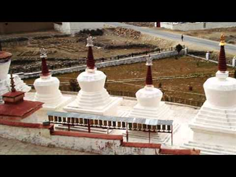 Katsel Monastery Mural Renovation in Tibet