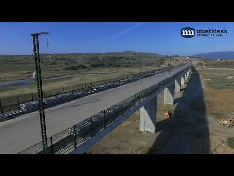 Obras en tramo AVE Madrid - Galicia por Metalesa Seguridad Vial[;;;][;;;]