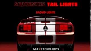2005 - 2009 Mustang Sequential Tail Lights by Monzter Automotive