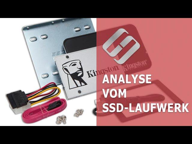 Analyse vom SSD-Laufwerk: Programme für die Suche und Behebung der Fehler vom SSD-Laufwerk