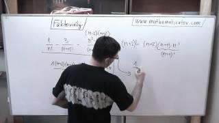 Kombinatorika - Faktoriály - úprava výrazu 7. 5. 2014