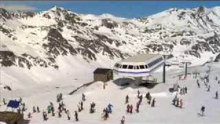 preview picture of video 'Vallnord : Pal-Arinsal Mountain Park et Ordino-Arcalís'