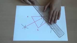 Tracer le cercle circonscrit à un triangle : vidéo élèves