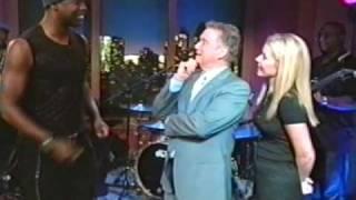 "Brian McKnight Regis & Kelly ""Backseat"""