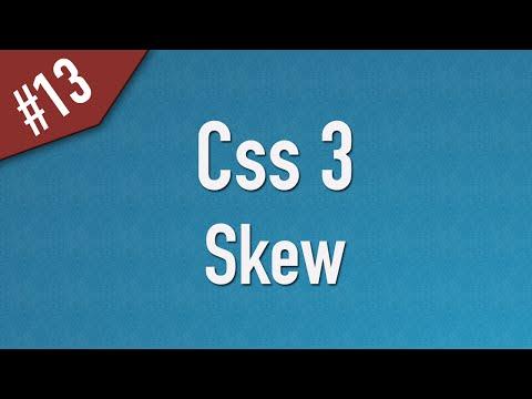 تعلم CSS3 القائمة #1 الفديو #13