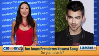 Joe Jonas Debuts 'I'm Sorry' On 'David Letterman'
