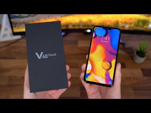 Video over LG V40 ThinQ