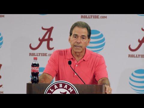 Nick Saban full press conference - USC game week