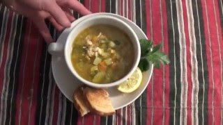 Supe me perime - Vegetables soup
