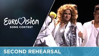 Laura Tesoro - What's The Pressure (Belgium) Second Rehearsal
