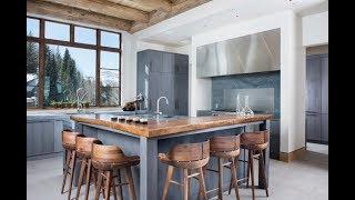 Vintage Bar Stools In Modern Contemporary Kitchens