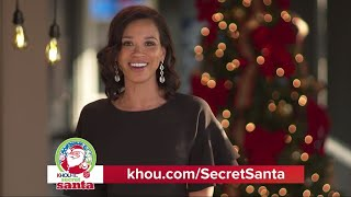 KHOU 11 Secret Santa - Mia Gradney's favorite toy: SuperVette remote control Barbie car