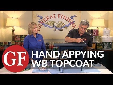 How to Apply Top Coat on Wood