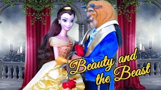 Beauty & the Beast for Kids ! Toys and Dolls Fun Pretend Play   SWTAD