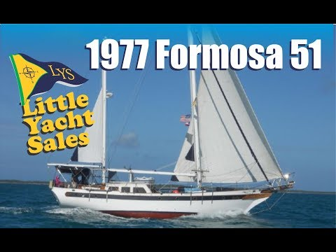 1977 Formosa 51 Sailboat for sale at Little Yacht Sales, Kemah Texas