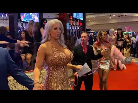 AVN AWARDS 2020 red carpet  fun music by the $on of $an$