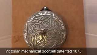 Victorian mechanical doorbell