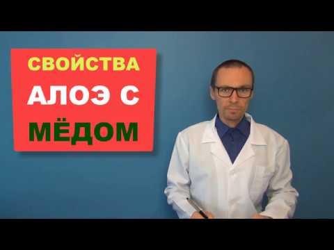 АЛОЭ с МЕДОМ: Лечебные Свойства и Рецепты