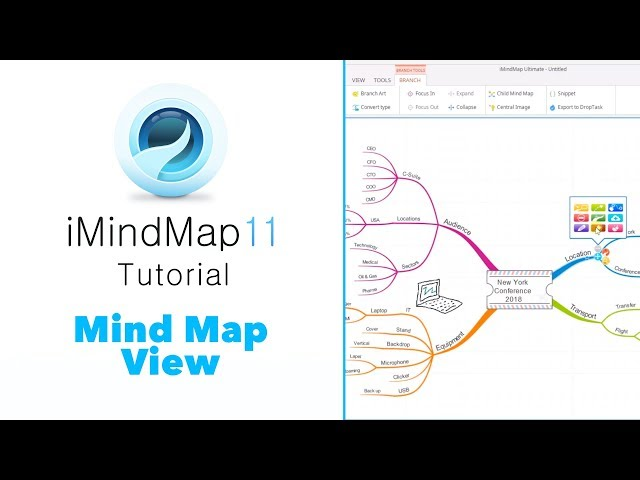 Tutorial: Mind Map View - iMindMap 11