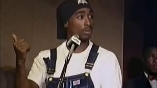 Thug Life Tupac Shakur Speech HQ