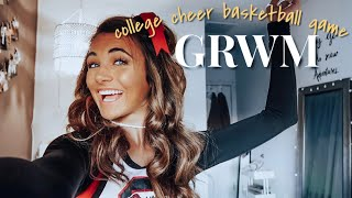 GRWM: College Cheer Basketball Game!!!