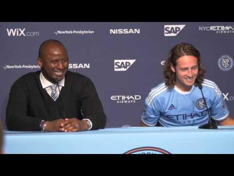 Patrick Vieira & Mix Diskerud Press Conference | 3.13.16 - NYCFC vs Toronto FC
