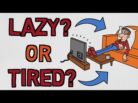 Jste líní, nebo jenom unavení? Poznejte rozdíl