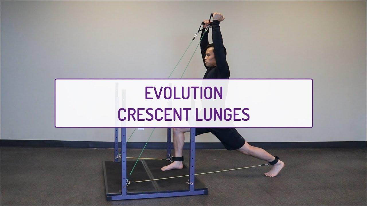 Evolution Crescent Lunges